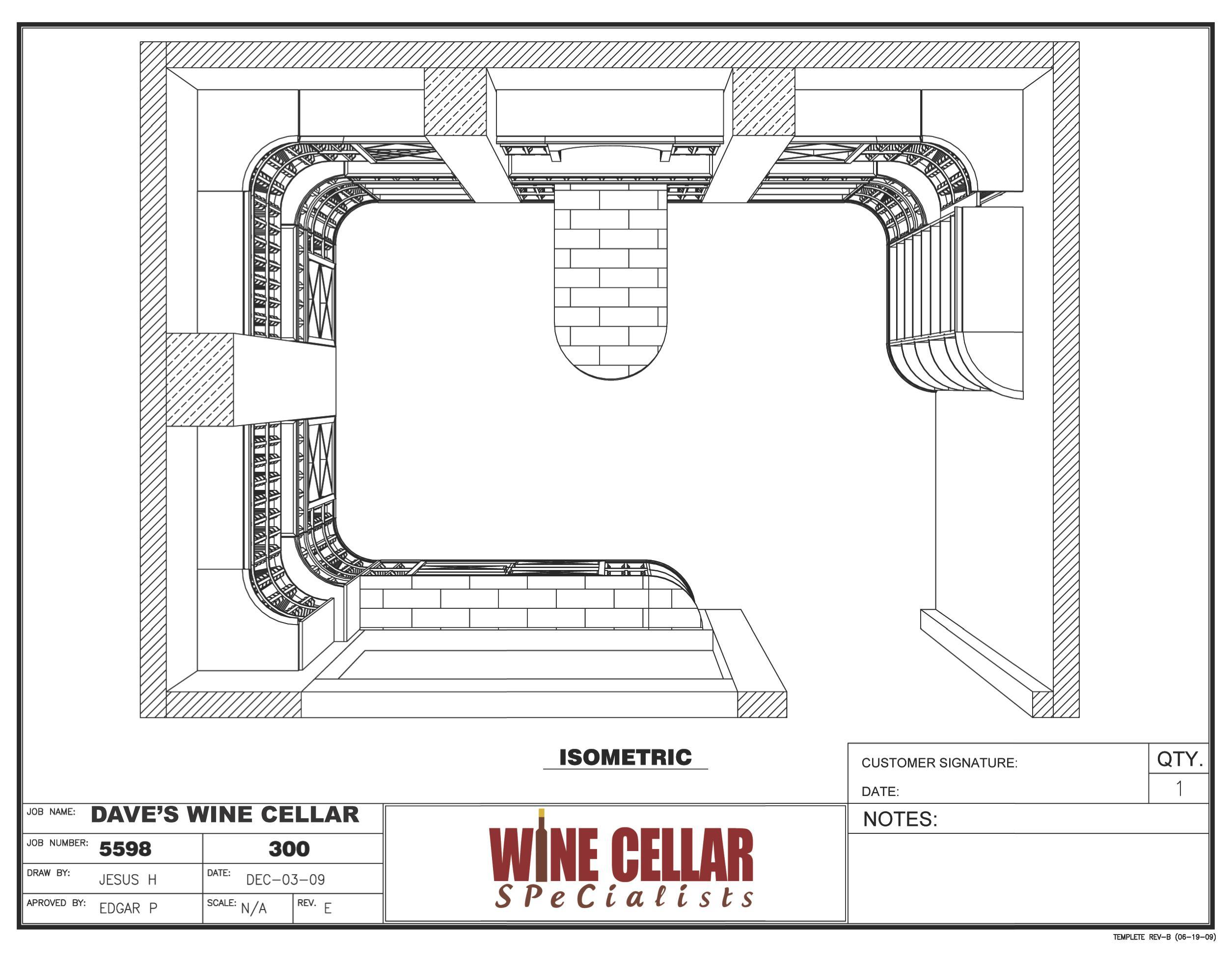 New Custom Wine Cellars Chicago Illinois